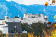 Panoramic view of the historic city of Salzburg