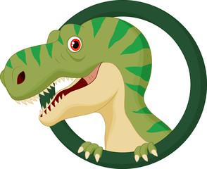 Cartoon tyrannosaurs rex