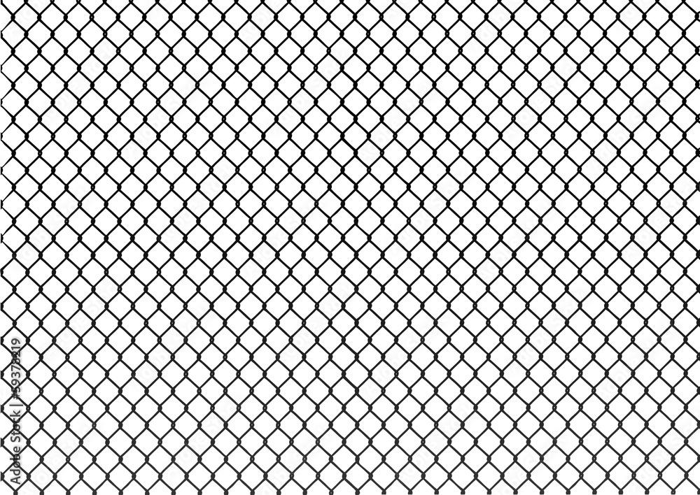 Fototapeta chainlink fence