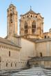 Poblet Monastery near Barcelona in Catalonia, Spain