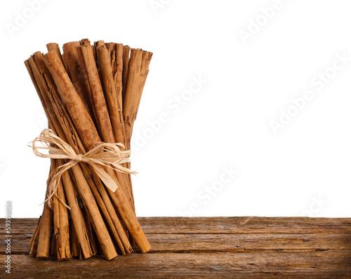 Fotografía Bunch of Ceylon cinnamon