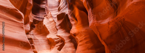Spoed Foto op Canvas Canyon Upper Antelope Canyon