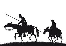 Don Quichotte Und Sancho Panza