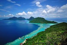 Scenic View  Tropical Island I...