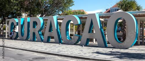 Otrobanad and Punda the capital city of Curacao Canvas Print