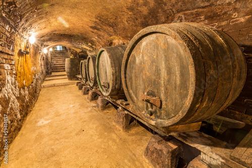 Fototapeta  Alte Weinfässer