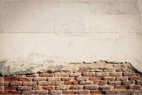 Fotografie, Obraz  Pared con ladrillos