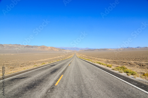 In de dag Route 66 The Long Remote Road to Somewhere
