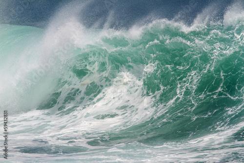 Autocollant pour porte Eau Perfect Wave