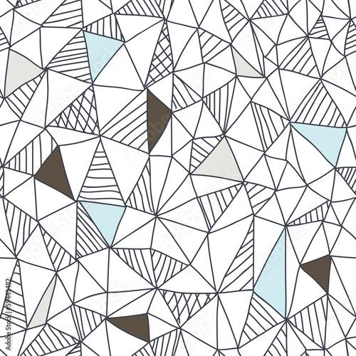 Streszczenie bezszwowe doodle wzór