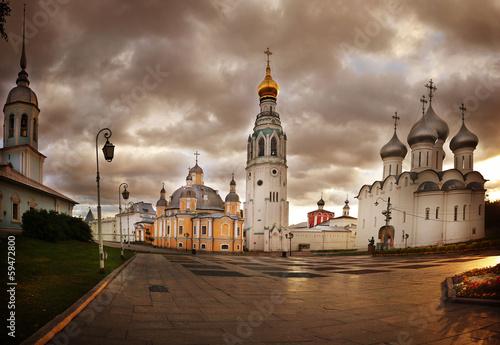 Valokuvatapetti cityscape Russia