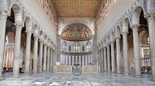 Rome - Interior Of Santa Sabina Church