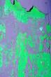 Leinwanddruck Bild - Hintergrund schriller Lack blättert ab