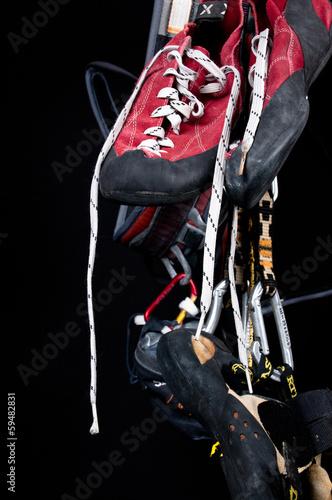 Foto op Plexiglas Alpinisme arrampicata sportiva