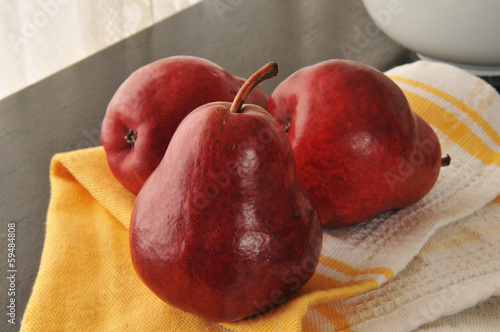 Photo Red pears