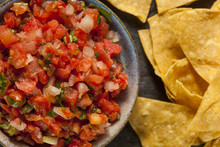 Homemade Pico De Gallo Salsa A...