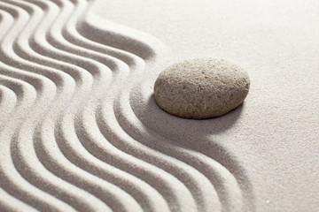 Fototapeta na wymiar zen progression with steadiness