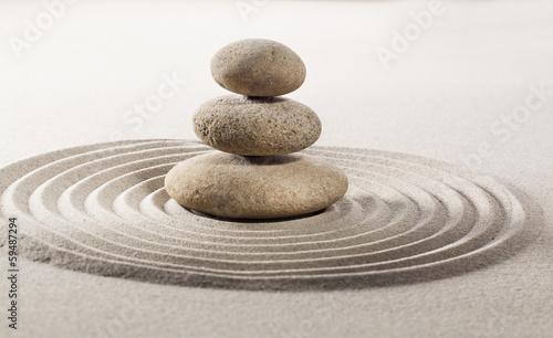 Photo sur Plexiglas Zen pierres a sable asian balance symbol