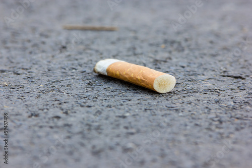 Fényképezés  cigarette butt