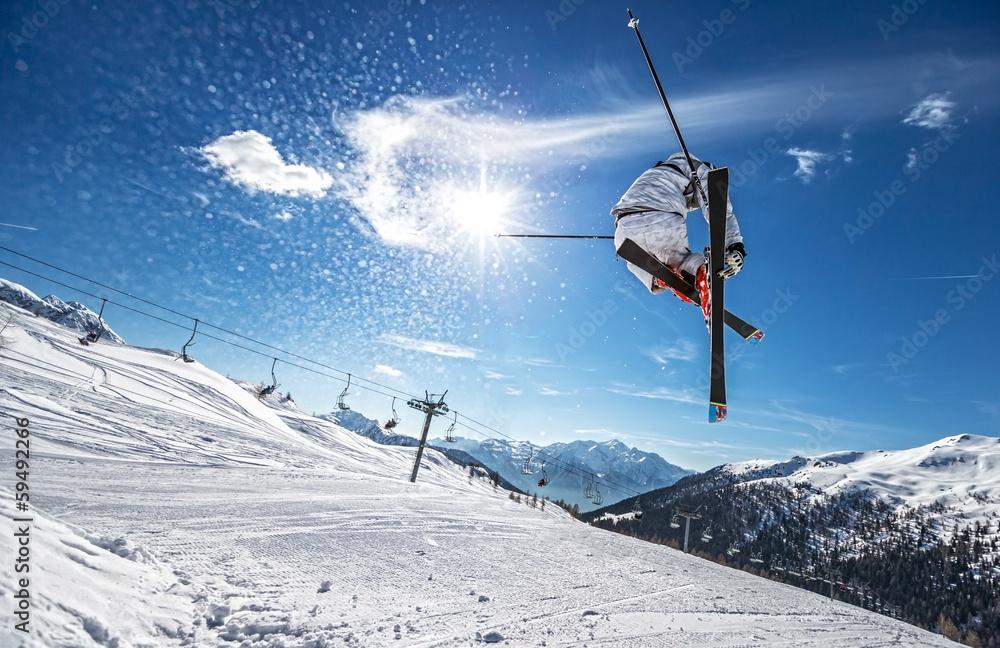 Fototapety, obrazy: Perfect Jump