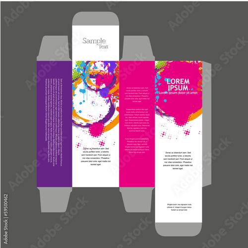 Perfume Box Design Acquista questo vettoriale stock ed