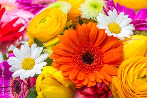 Blumen als Hintergrund