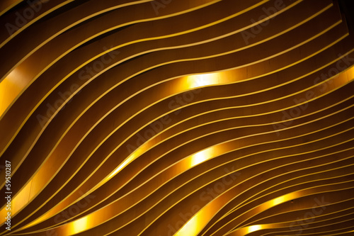 Decoration Background texture waves in the interior of high-tech