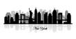 vector new york skyline silhouette