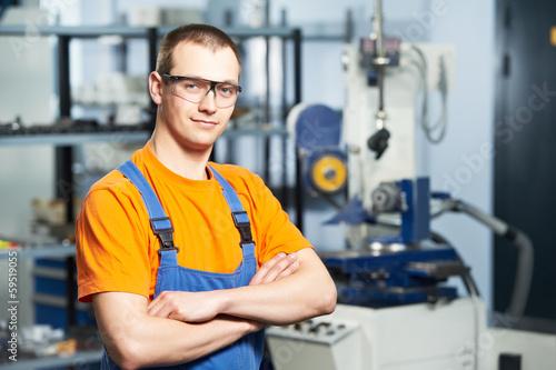Fotografía  Portrait of experienced industrial worker