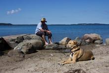 Am Strand Mit Nina Und Thorsten