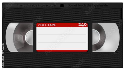 Retro Videotape Slika na platnu