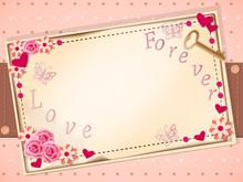 Scrapbooking Romantic Card
