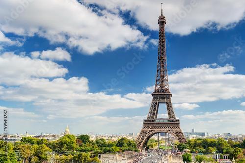 Poster Tour Eiffel The Eiffel tower in Paris