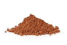 Heap Of Fresh Cacao Powder