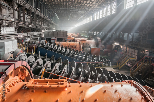 Photo  ore-dressing and processing enterprise