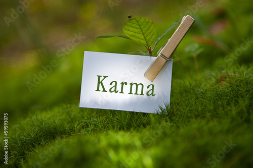 Karma Fototapeta
