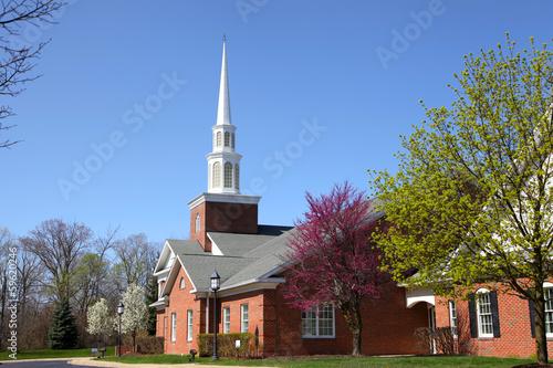Elegant church building