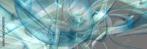 abstrakcyjna-panorama-trojwymiarowych-blekitnych-i-chaotycznych-ksztaltow