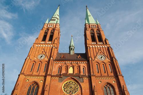 Fotografia, Obraz Antoni's Church in Rybnik