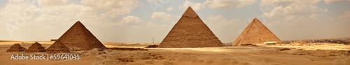 Tuinposter Egypte Плато Гиза