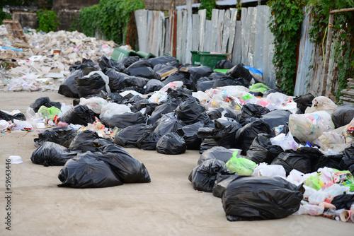 Fototapety, obrazy: Heap of garbage