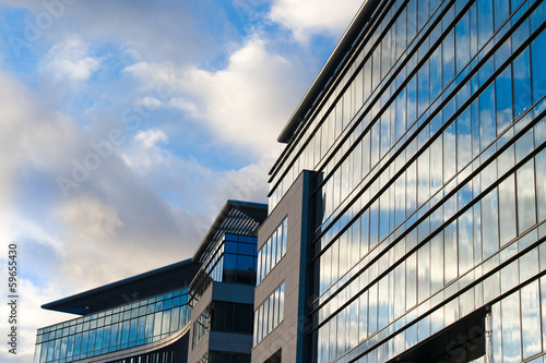 Obraz Modern office building - fototapety do salonu