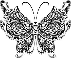 NaklejkaButterfly Tattoo