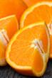 Oranges slice