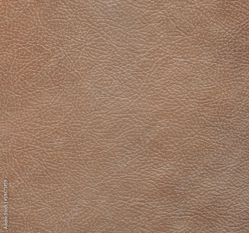Deurstickers Leder brown leather texture