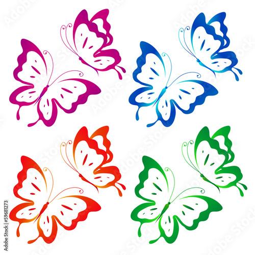 wzor-kolorowych-motyli