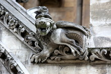 Part Of House Of Westminster Abbey Originally Built In 11th Cent