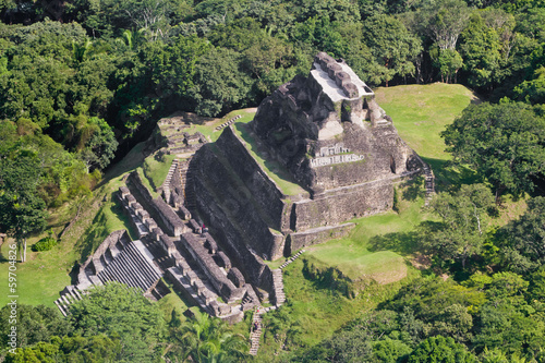 Xunantunich, Maya ruins Wallpaper Mural