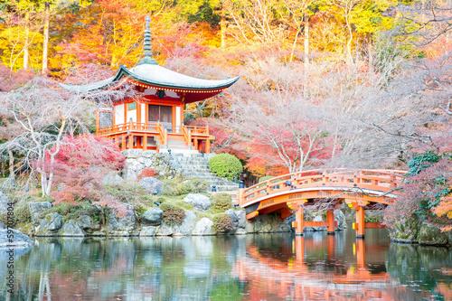 Poster de jardin Kyoto Daigoji Temple Kyoto
