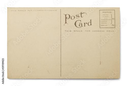Fotografia  Blank Postcard
